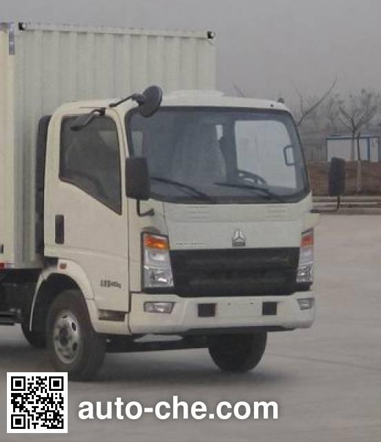 Sinotruk Howo ZZ5067XXYF341CD1Y65 box van truck