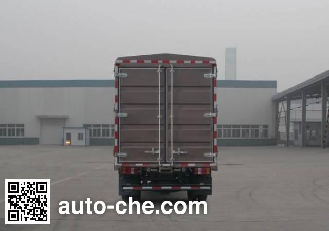 豪沃牌ZZ5087CCYG331BE183仓栅式运输车