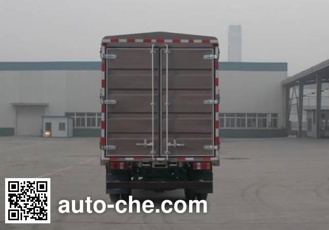 豪沃牌ZZ5087CCYG381CE183仓栅式运输车