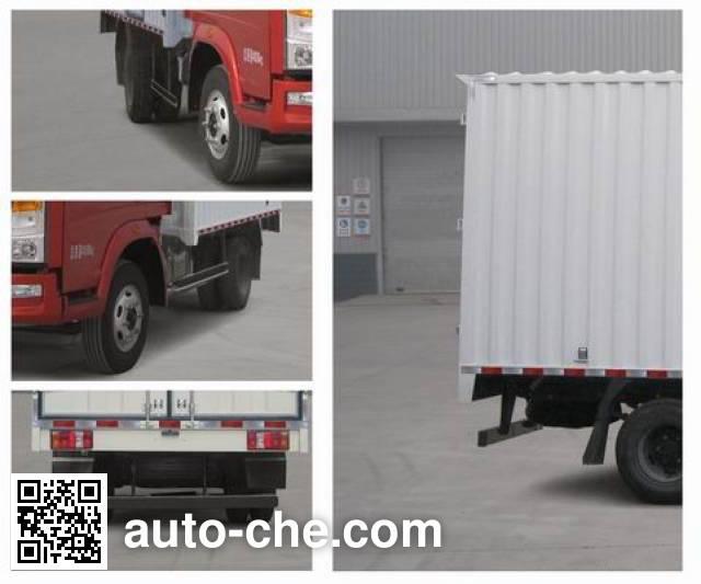 Sinotruk Howo ZZ5087XXYD3414D183 box van truck