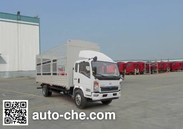 Sinotruk Howo ZZ5107CCYD4215D1 stake truck