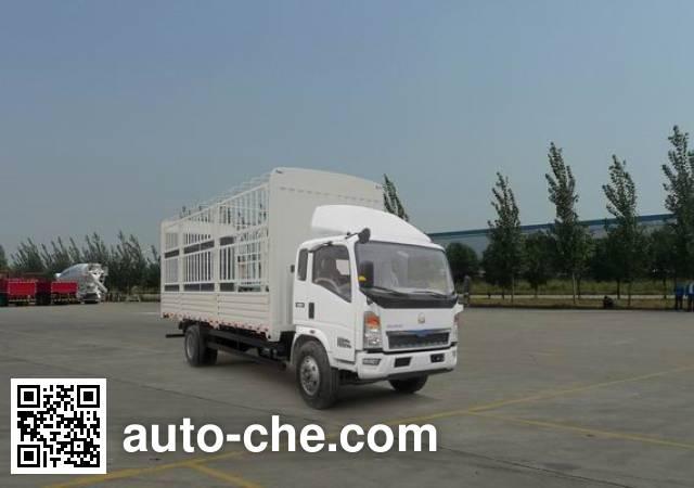 豪沃牌ZZ5107CCYD4515D1仓栅式运输车