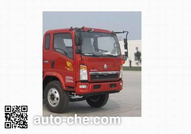 豪沃牌ZZ5107CCYG3615D1仓栅式运输车