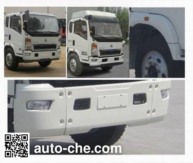 豪沃牌ZZ5107CCYG4515D1仓栅式运输车