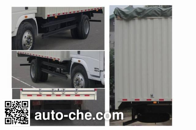 Sinotruk Howo ZZ5127CPYD3815C1 soft top box van truck