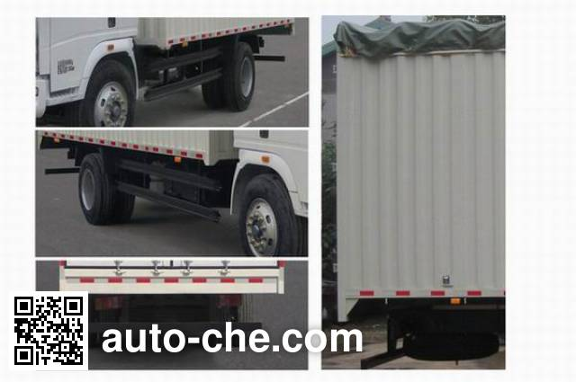 Sinotruk Howo ZZ5107CPYG3615D1 soft top box van truck