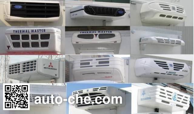 Sinotruk Howo ZZ5107XLCG421CE199 refrigerated truck