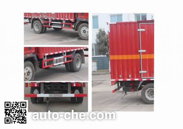 Sinotruk Howo ZZ5107XRQG421CE1 flammable gas transport van truck