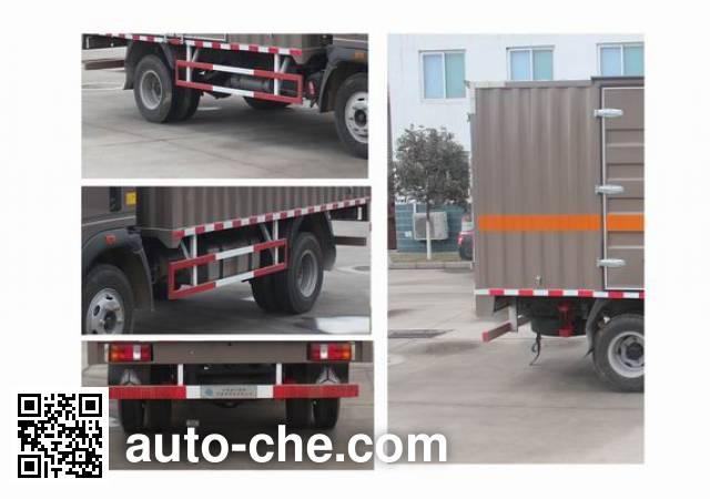 Sinotruk Howo ZZ5107XRYG421CE1 flammable liquid transport van truck