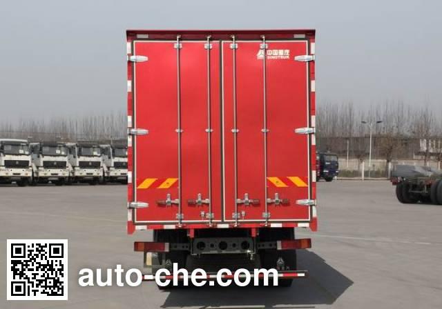 Sida Steyr ZZ5121XXYG521GD1 box van truck