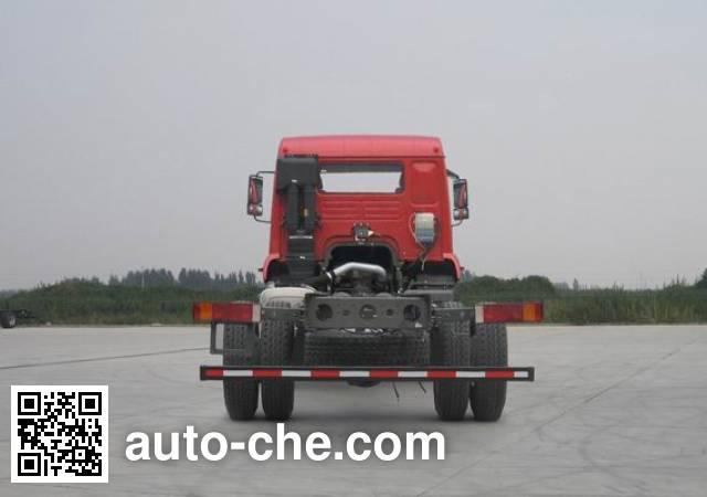斯达-斯太尔牌ZZ5121XXYH561GE1厢式运输车底盘