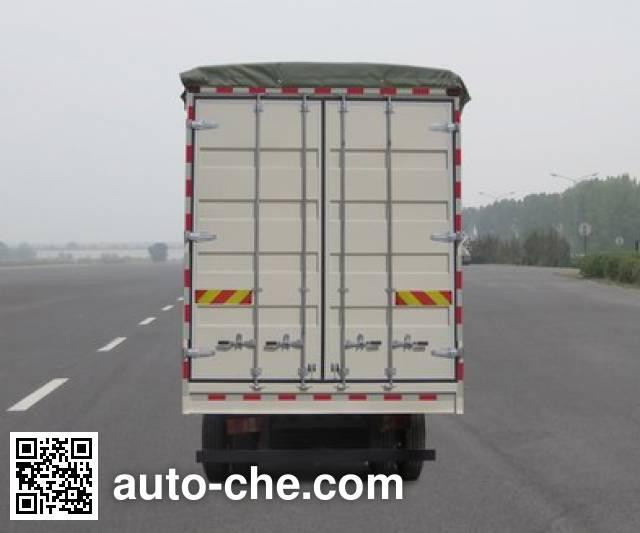 Sinotruk Howo ZZ5127CPYD3615C1 soft top box van truck