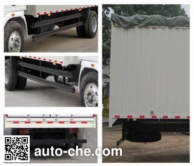 Sinotruk Howo ZZ5127CPYD4215C1 soft top box van truck