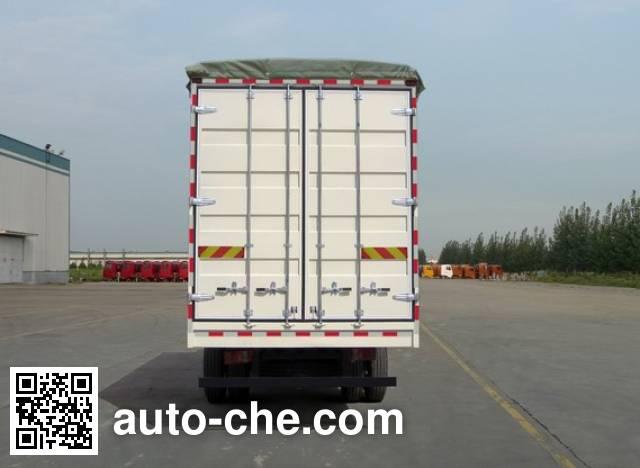 Sinotruk Howo ZZ5127CPYD5215D1 soft top box van truck