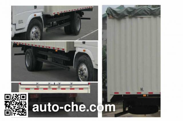 Sinotruk Howo ZZ5127CPYG3815D1 soft top box van truck