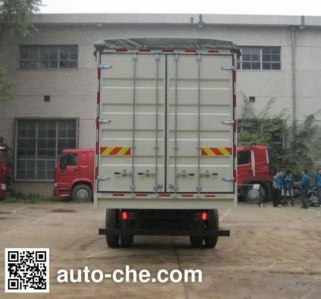 Sinotruk Howo ZZ5127CPYG4215D1 soft top box van truck