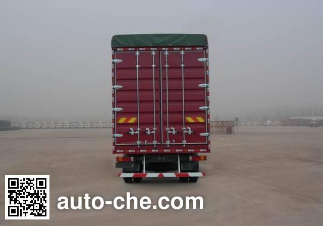 Sinotruk Howo ZZ5127CPYH501GD1 soft top box van truck