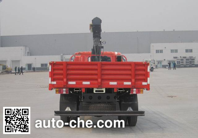 豪沃牌ZZ5127JSQG451CD1随车起重运输车