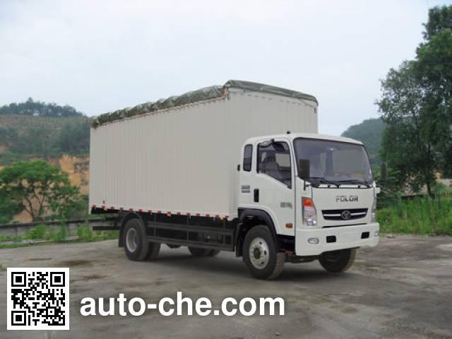 Homan ZZ5128CPYG17DB3 soft top box van truck