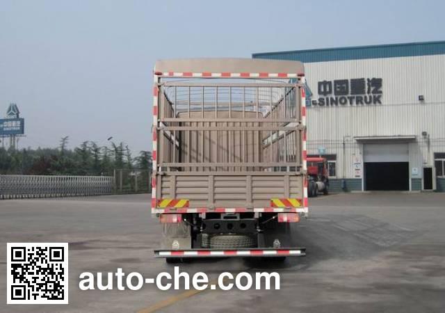 豪沃牌ZZ5147CCYG381CE1仓栅式运输车