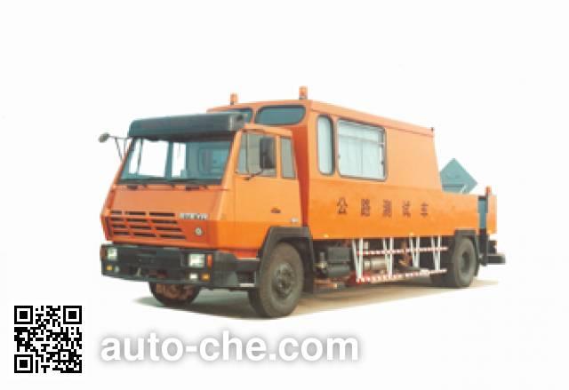 Sida Steyr ZZ5152TLCL6010 road testing vehicle