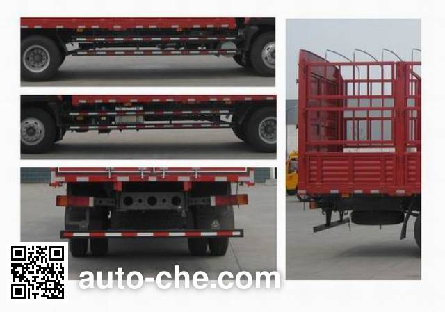 Sida Steyr ZZ5161CCYG471GE1B грузовик с решетчатым тент-каркасом