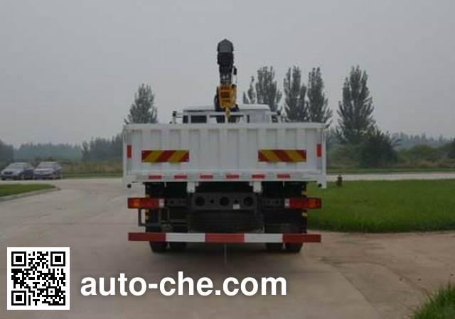 Sida Steyr ZZ5161JSQH501GD1 truck mounted loader crane