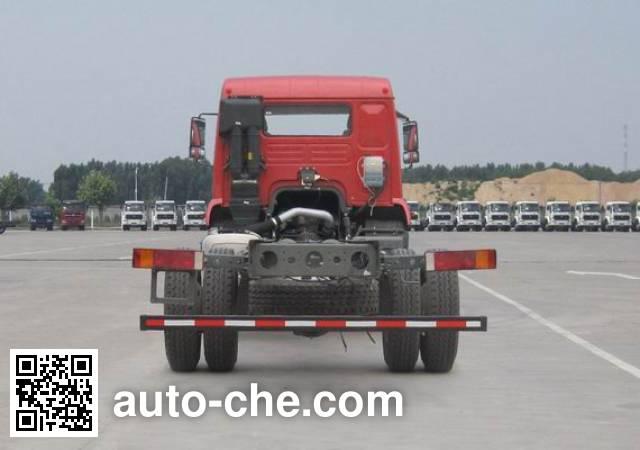 斯达-斯太尔牌ZZ5161XXYH561GE1厢式运输车底盘