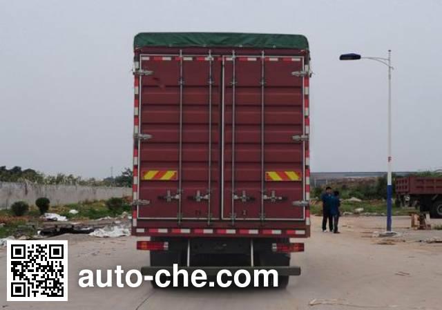 Huanghe ZZ5164CPYF5216D1 soft top box van truck