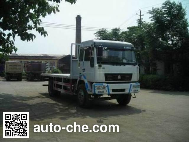 黄河牌ZZ5164TPBG4715C1平板运输车