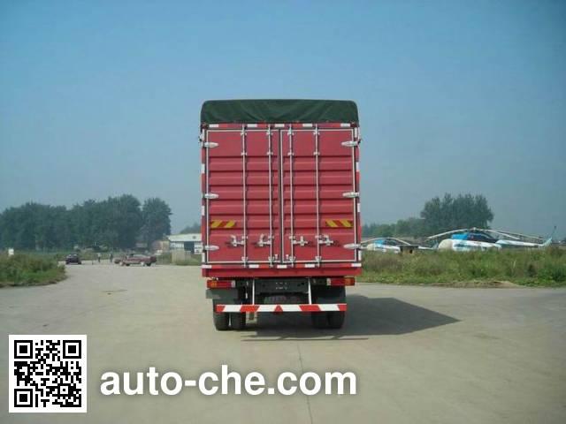 Huanghe ZZ5164XXBK5315C1 soft top box van truck
