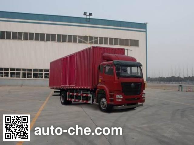 豪瀚牌ZZ5165XXYH5213D1厢式运输车