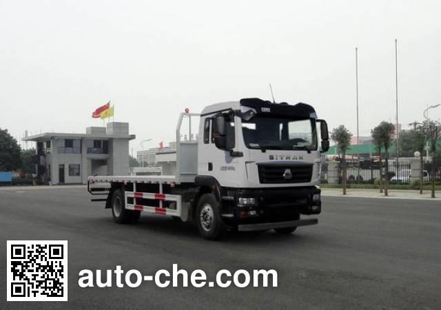 汕德卡牌ZZ5166TPBK501GE1平板运输车