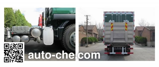 Sinotruk Sitrak ZZ5166XYZM561GE1 postal vehicle