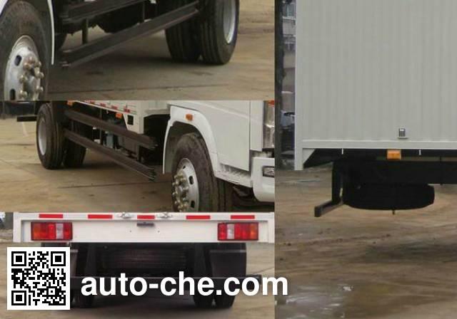 Sinotruk Howo ZZ5167CPYG4515D1 soft top box van truck