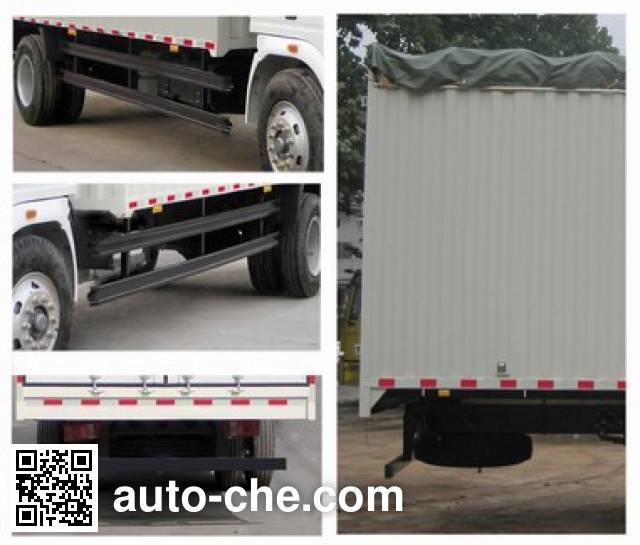 Sinotruk Howo ZZ5167CPYG5215D1 soft top box van truck
