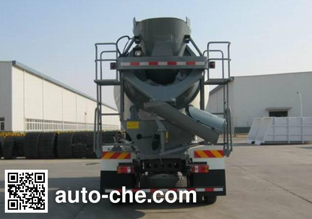 豪沃牌ZZ5167GJBG381CD1混凝土搅拌运输车