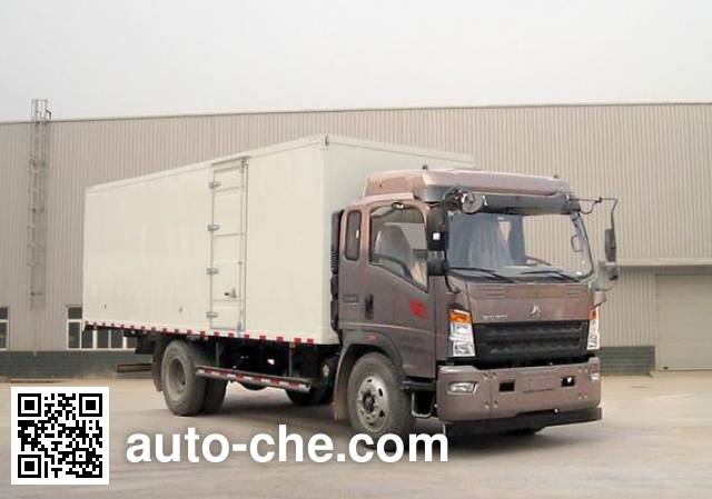 Sinotruk Howo ZZ5167XXYG451CD1 box van truck