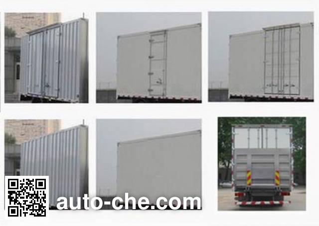 Sinotruk Howo ZZ5317XXYN466NE1 box van truck