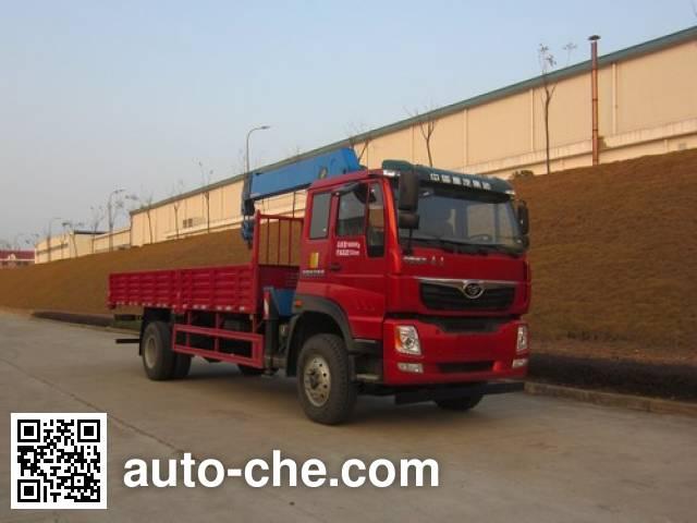 Homan ZZ5168JSQF10DB0 truck mounted loader crane