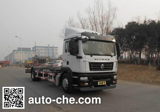 汕德卡牌ZZ5176ZKYM561GE1车厢可卸式邮政车
