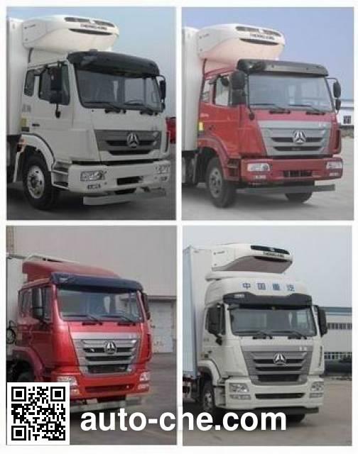 Sinotruk Hohan ZZ5185XLCH7113E1 refrigerated truck