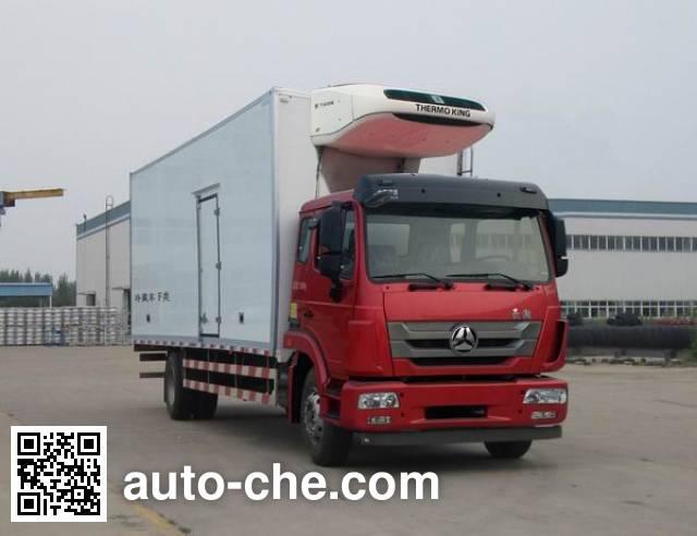 Sinotruk Hohan ZZ5185XLCN7113E1 refrigerated truck