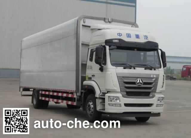 Sinotruk Hohan ZZ5185XYKH7113E1 wing van truck