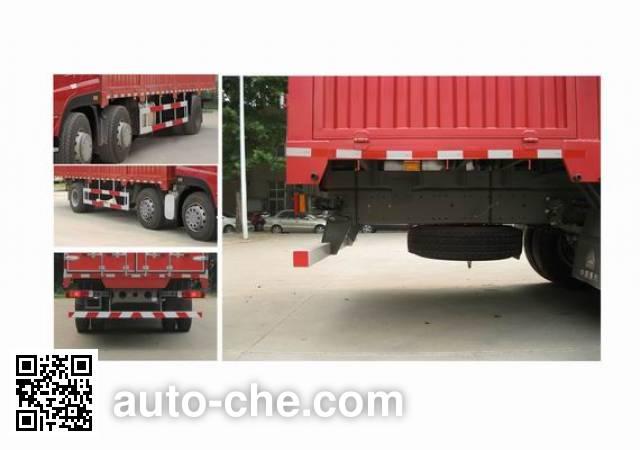 Sida Steyr ZZ5203CCYM56CGE1 грузовик с решетчатым тент-каркасом
