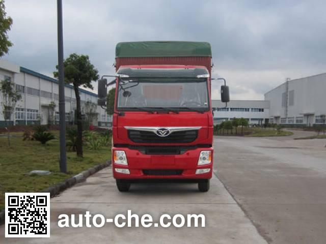 Homan ZZ5208CPYKC0DB0 soft top box van truck