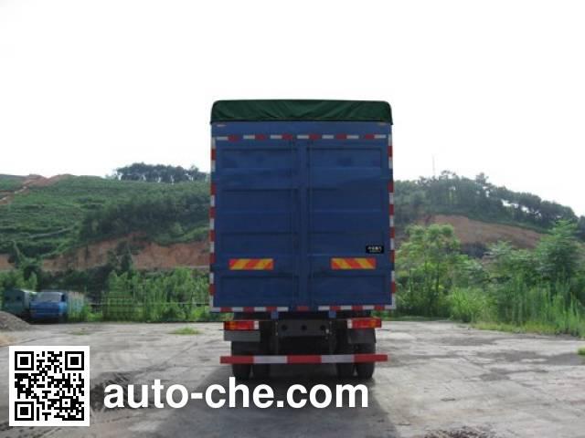 Homan ZZ5208CPYKC3CB0 soft top box van truck