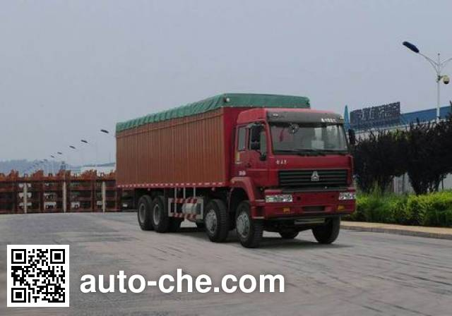 Sida Steyr ZZ5241XXBN4661C1 soft top box van truck