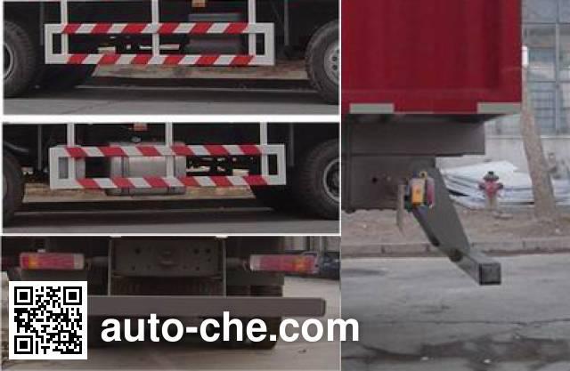 Sida Steyr ZZ5311XXBN4661C1 soft top box van truck