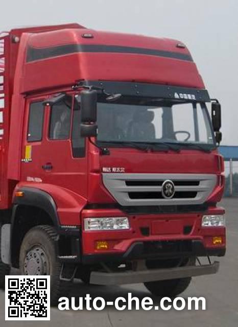 Sida Steyr ZZ5251CCYK48CGD1 грузовик с решетчатым тент-каркасом